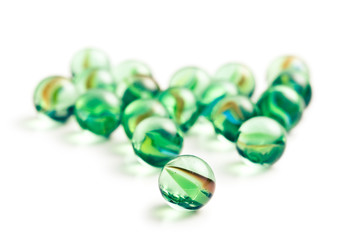 Glass marble balls