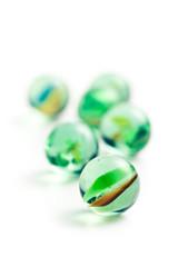 Glass marble balls