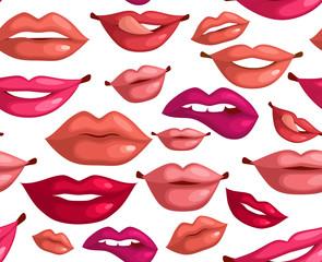 Seamless lips