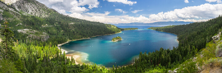Wall Mural - Emerald Bay, Lake Tahoe