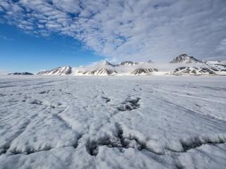 Arctic glacier landscape - Svalbard