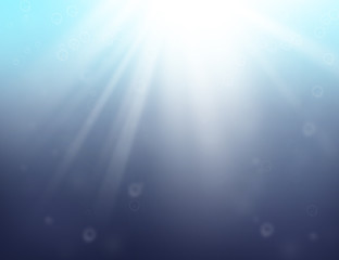 Ocean blue abstract background