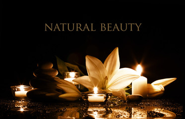Wall Murals Spa spa beauty composition
