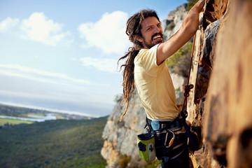 Feeling carefree -Nature and rockclimbing