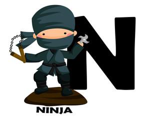 N for Ninja