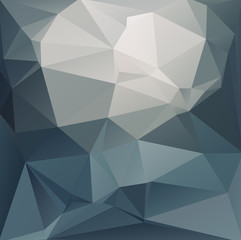 Abstract polygonal background dark