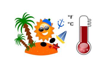 Simboli e icone dell'estate