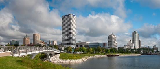 Milwaukee City Skyline