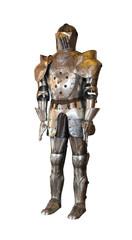 Metal armour