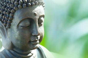 Photo sur Plexiglas Buddha Buddha's head