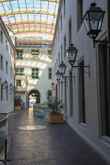 Wnętrze,architektura,lampy,budynek,zabudowa przestrzenna