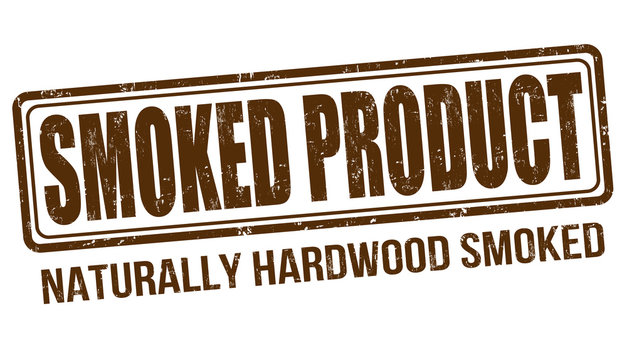 Smoked product stamp