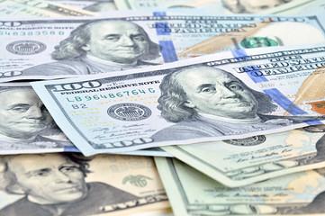 Money - United States dollars (USD) bills