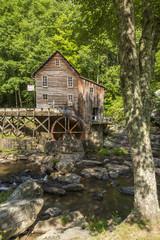 Photo sur Toile Moulins Glade Creek Grist Mill