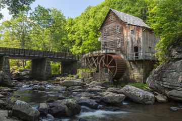 Acrylic Prints Mills Glade Creek Grist Mill