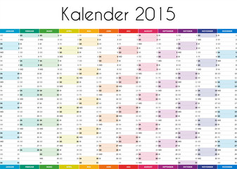 Kalender 2015 - GERMAN VERSION