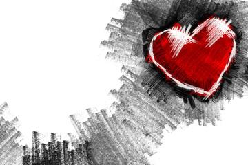 Heart pancil 9