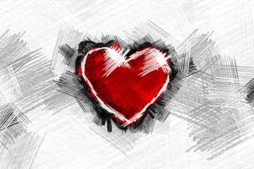 Heart pancil 13