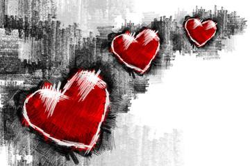 Heart pancil 19