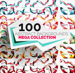 Mega collection of 100 waves