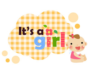 Baby shower- It's a girl