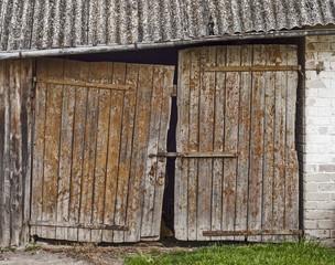 old door background