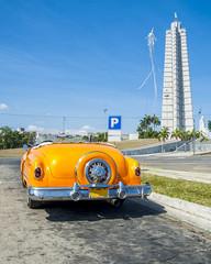 Foto op Plexiglas Cubaanse oldtimers Auto cubana