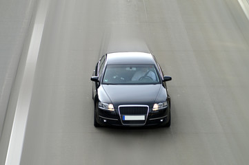 Fototapete - Schnelles Auto