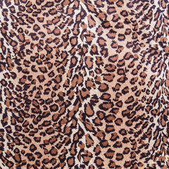 The texture of fabric stripes leopard