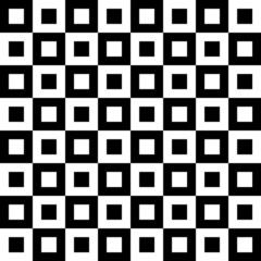 Rectangular checked pattern