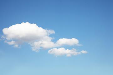 Eine Wolke am Himmel