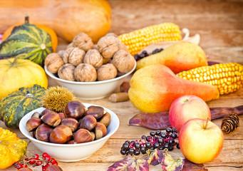 Autumn fruitage - autumn harvest