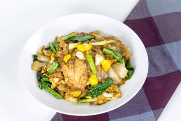 Stir Fried Rice Noodle With Chinese Broccoli