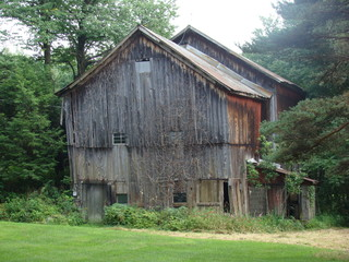Old Broken Down Barn