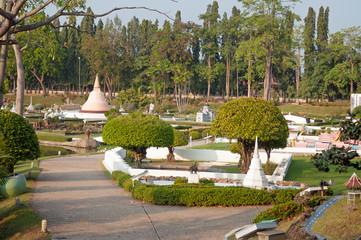 View of  Mini Siam Park