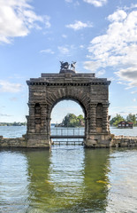 Entry Arch over Boldt Castle, Thousand Islands