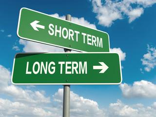 short term long term