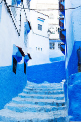 Foto op Canvas Marokko Chefchaouen