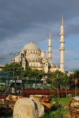 Yeni Camii- New Mosque in Istanbul-Eminonu
