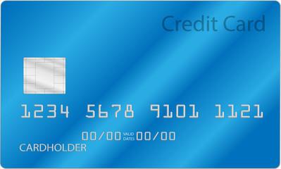 Creditcard blue