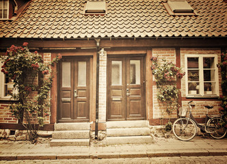 Cottage townhouses in Lund