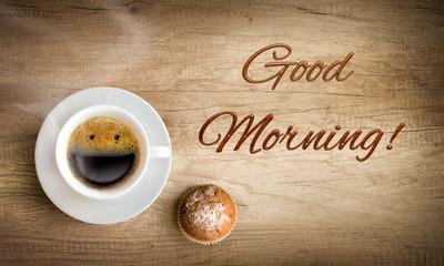 happy morning coffee