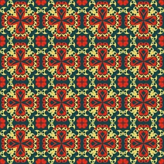 Abstract pattern seamless. Arabesque style