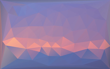 Triangle polygonal pastel background