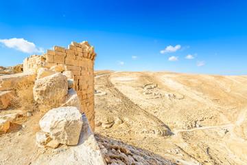 Shobak Castle of a Crusader in Shobak, Jordan.