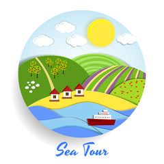 Sea Tour eco emblem