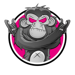 affe schimpanse symbol icon
