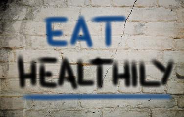 Eat Healthly Concept