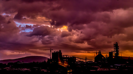 Dark clouds over Dire Dawa Cement factory