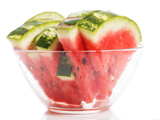 Delicious watermelon on the table